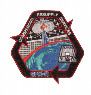 SpaceX's SPX-11 Commercial Resupply Service Patch
